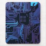 Cooler Leiterplatte-Computer-blaues Lila Mousepads