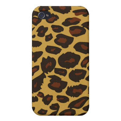 Cooler Leopard-Muster-Druck iPhone 4 Fall iPhone 4 Hülle
