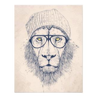 Cooler Löwe Individuelle Ankündigungskarte