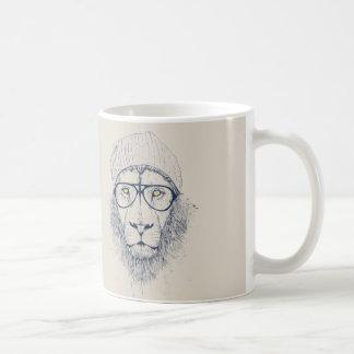 Cooler Löwe Kaffeetasse