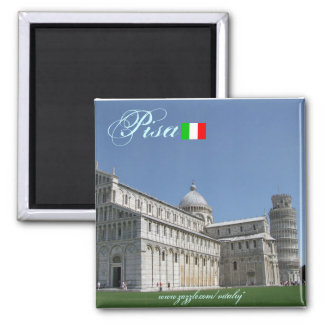 Cooler Magnetentwurf Pisas Italien Magnete