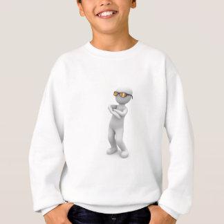 Cooler Mann stehend Sweatshirt