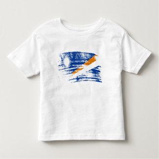 Cooler Marshallese Flaggenentwurf Kleinkind T-shirt
