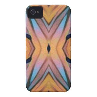 Cooler moderner Chic-künstlerisches Muster iPhone 4 Case-Mate Hülle
