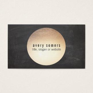 Cooler moderner DJ-Goldkreis Visitenkarten