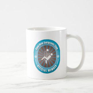 Cooler Mundchirurg-Verein Kaffeetasse