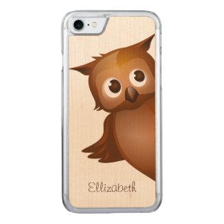 Cooler niedlicher Name-lustiges Carved iPhone 8/7 Hülle