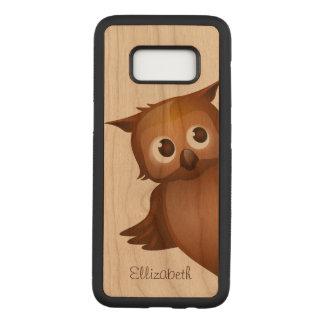 Cooler niedlicher Name-lustiges Carved Samsung Galaxy S8 Hülle