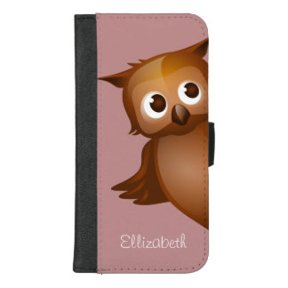 Cooler niedlicher Name-lustiges iPhone 8/7 Plus Geldbeutel-Hülle
