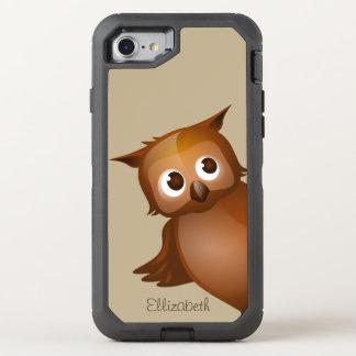 Cooler niedlicher Name-lustiges OtterBox Defender iPhone 8/7 Hülle