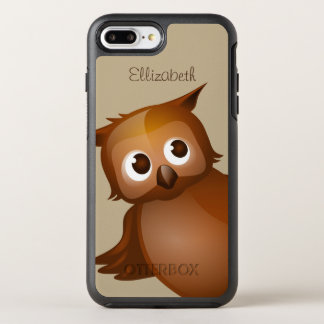 Cooler niedlicher Name-lustiges OtterBox Symmetry iPhone 8 Plus/7 Plus Hülle