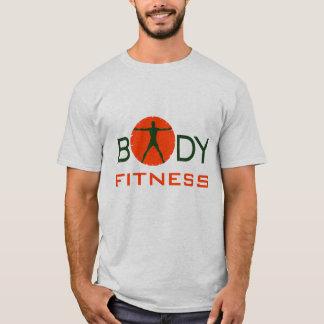 Cooler orange grüner Körper-Verrücktheits-Sport T-Shirt