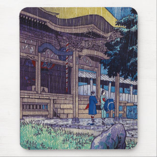 Cooler orientalischer Japaner Shiro Kasamatsu Mousepads