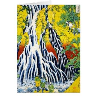 Cooler orientalischer japanischer hokusai karte