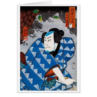 Cooler orientalischer japanischer karte