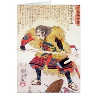 Cooler orientalischer japanischer traditioneller karte