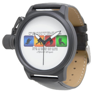 Cooler Paintball ist es eine Lebensart Armbanduhr
