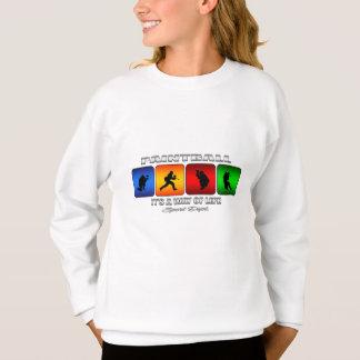 Cooler Paintball ist es eine Lebensart Sweatshirt