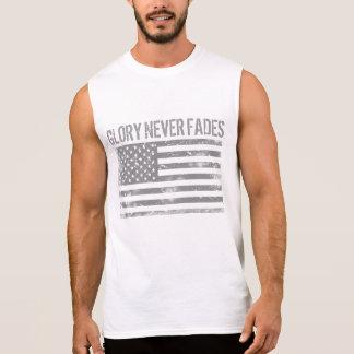 Cooler patriotischer Ruhm verblaßt nie und Ärmelloses Shirt