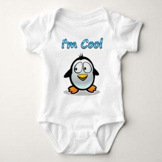 Cooler Penguin Baby Strampler