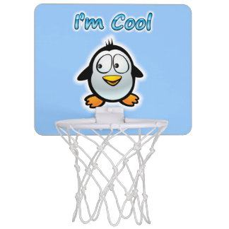 Cooler Penguin Mini Basketball Ring