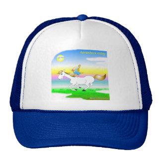 Cooler Pferderuecken-Reithut für Kinder Kult Cap