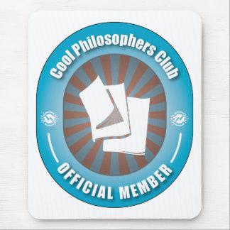 Cooler Philosophen-Verein Mauspads