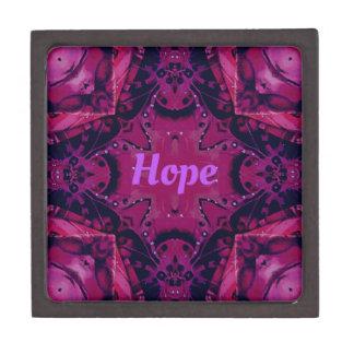 """Cooler Pop-magentaroter Lavendel-""""Hoffnungs-"""" Kiste"""