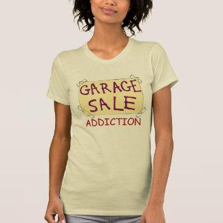 Cooler Ramschverkauf-Sucht-T - Shirt