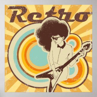 Cooler Retro Spaß-Entwurf Poster