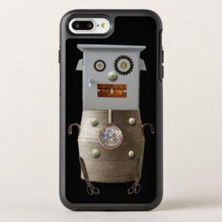Cooler Roboter Sci FI-Telefon-Kasten OtterBox Symmetry iPhone 8 Plus/7 Plus Hülle