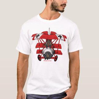 Cooler roter Baron-Flugzeug-T - Shirtentwurf T-Shirt