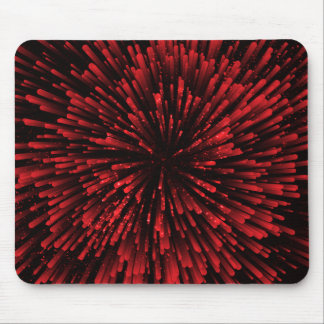 Cooler roter Explosions-Entwurf Mousepad