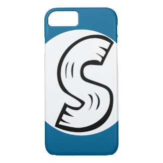 Cooler s-Entwurfs-Monogramm iPhone 7 Fall iPhone 8/7 Hülle