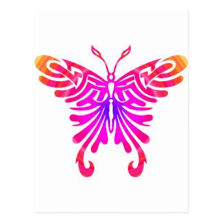 Cooler Schmetterling Postkarte