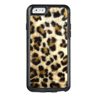 Cooler schwarzer Leopard beschmutzt OtterBox OtterBox iPhone 6/6s Hülle