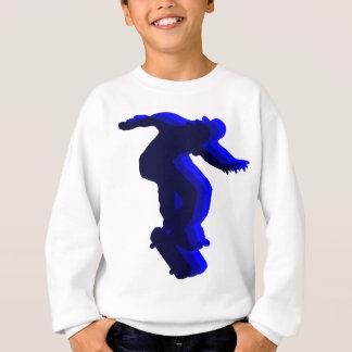 Cooler Skateboarderbewegungsentwurf Sweatshirt
