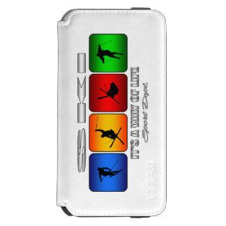 Cooler Ski ist es eine Lebensart Incipio Watson™ iPhone 6 Geldbörsen Hülle