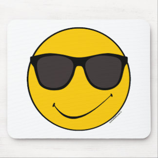 Cooler smiley Joes Mousepad
