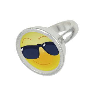 COOLER SMILEY RING