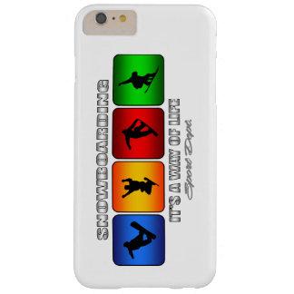 Cooler Snowboarding ist es eine Lebensart Barely There iPhone 6 Plus Hülle