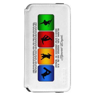 Cooler Snowboarding ist es eine Lebensart Incipio Watson™ iPhone 6 Geldbörsen Hülle