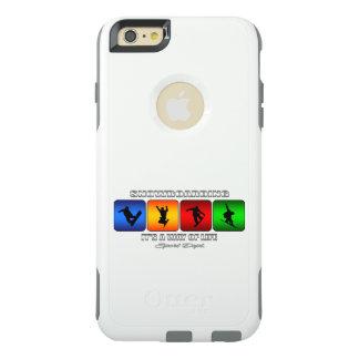 Cooler Snowboarding ist es eine Lebensart OtterBox iPhone 6/6s Plus Hülle