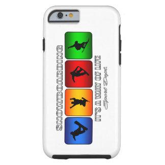 Cooler Snowboarding ist es eine Lebensart Tough iPhone 6 Hülle