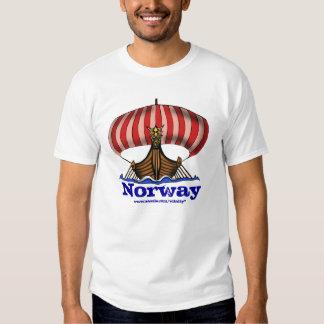 Cooler T - Shirtentwurf Wikinger-Schiffsnorwegens Tshirt