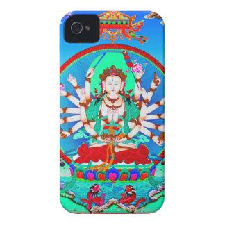 Cooler tibetanischer thangka Tätowierung Cundhi iPhone 4 Hülle