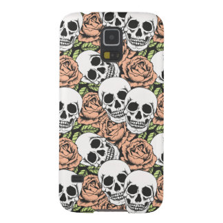 cooler Todesschädel und Rose Samsung S5 rufen Fall Galaxy S5 Cover