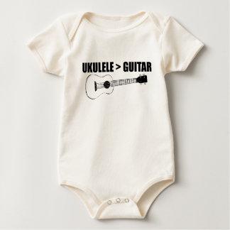 cooler Ukulele Baby Strampler