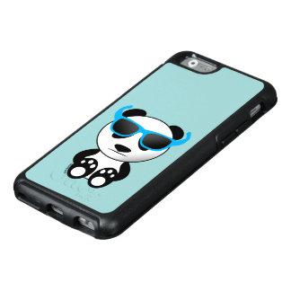 Cooler und niedlicher Pandabär mit Sonnenbrillen OtterBox iPhone 6/6s Hülle