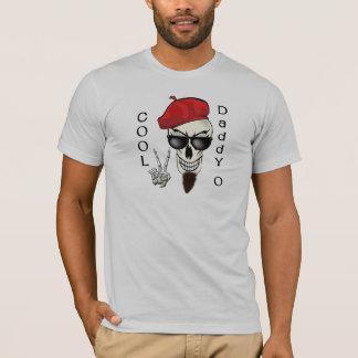Cooler Vati - Obeatnik-Schädel T-Shirt